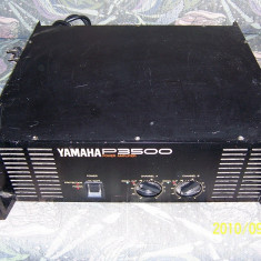 Amplificator profesional YAMAHA P3500 - Amplificator audio