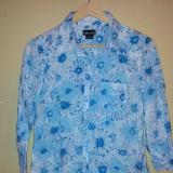 Bluza dama Wet Seal, marimea M, 100% bumbac, ca noua, Marime: M, Culoare: Albastru, Maneca lunga, Casual