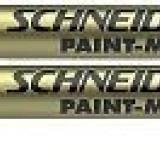 Paint marker Schneider M270 AURIU ( marker vopsea ), set 10 buc
