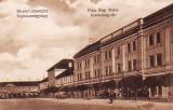 Ok-1233- Romania, Sf. Gheorghe, c.p. necirc. apr.1919: Pta. Regina Maria, animat