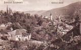 Ok-1220- Romania, Zlatna, carte postala necirculata aprox.1916: Vedere fragment