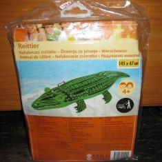 Crocodil gonflabil 145 x 47 cm - NOU Altele, Unisex, Verde