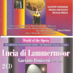 Opera - Lucia di Lammermoor - 2CD - Muzica Opera electrecord