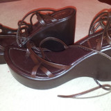 Sandale de la Aldo, Made in Italy, marimea 37, folosite o singura data.