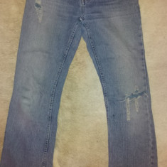 Blugi originali dama vintage de la Tyte Jeans, ca noi, masura S - Blugi dama, Marime: S, Culoare: Albastru, Albastru, Drepti, S
