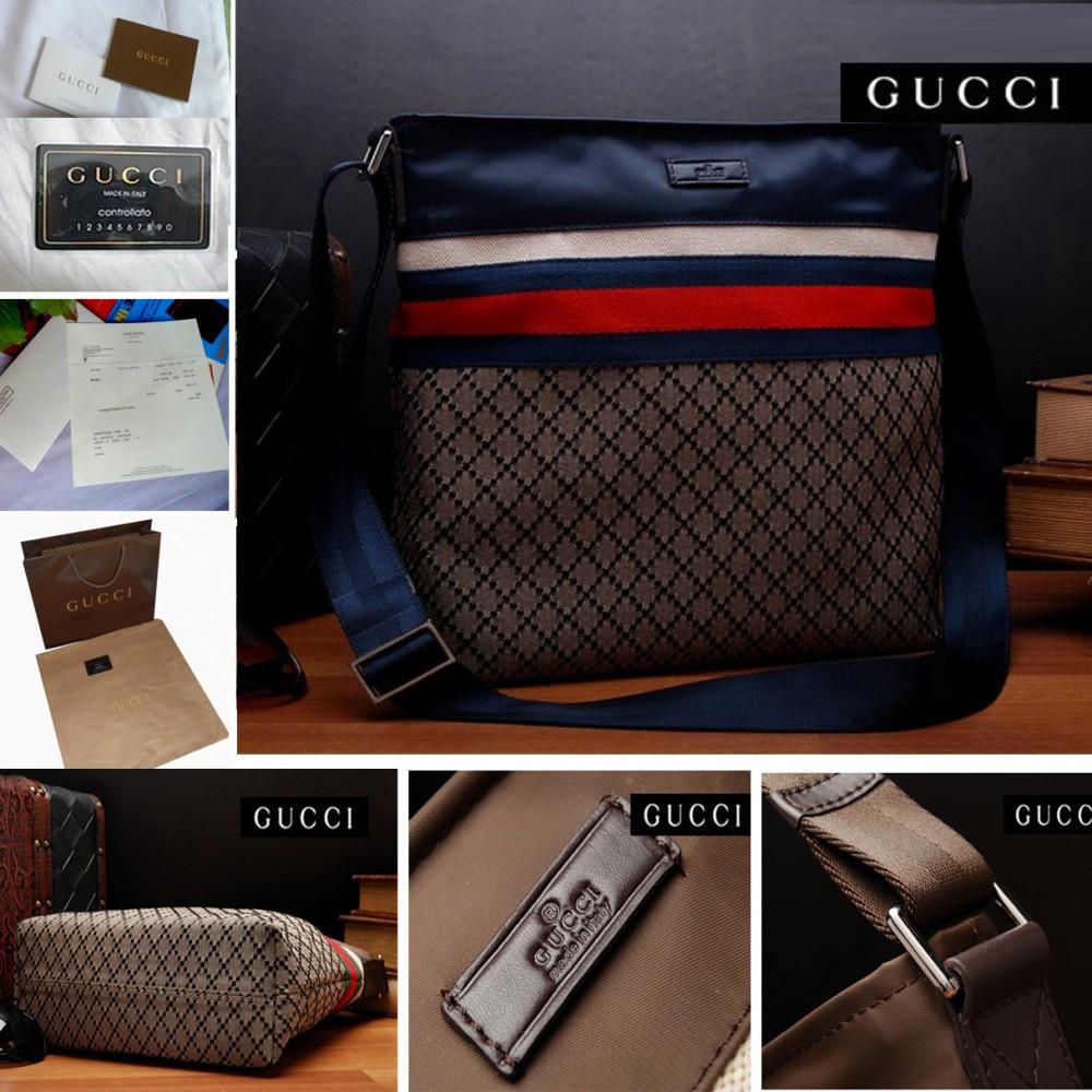 20c51a31006d Geanta Gucci pentru Barbati originale din GG material cu piele 100 ...