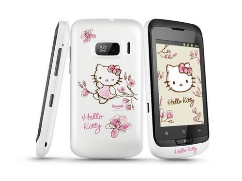 Alcatel OneTouch 918 Hello Kitty foto mare