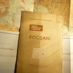 Harta Solurilor - Zona Focsani - Comitet Stat Geologie 1969