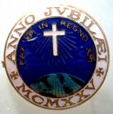 I.002 ITALIA MILANO ANNO JUBILAEI CRUCE MCMXXV 1925 27mm
