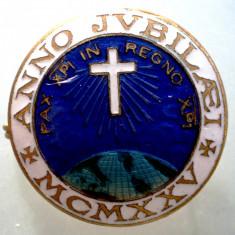 I.002 ITALIA MILANO ANNO JUBILAEI CRUCE MCMXXV 1925 27mm - Insigna, Europa