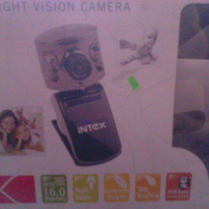 Camera wep intex 16 mega pixels - Webcam Alta, Peste 2.4 Mpx, CMOS, Microfon