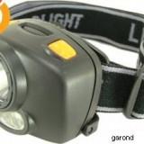 Lanterna fixare pe cap, cu 1 LED 3W/3406