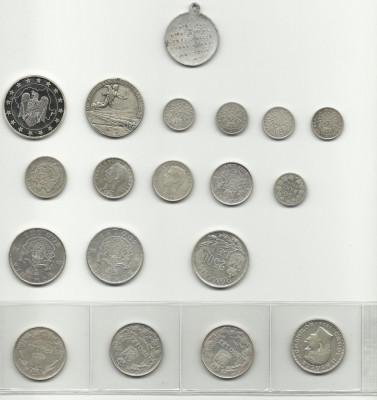 monezi romanesti argint foto