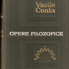 Vasile Conta-Opere Filozofice - Carte Filosofie