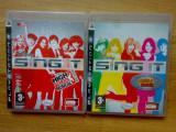 Vand 2 jocuri Ps3 : SING IT pentru Playstation 3