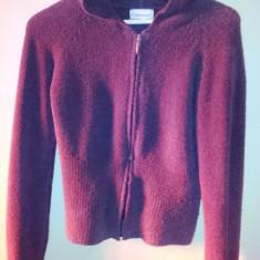 Bluza dama cu gluga de la Ambiance, marimea S, usor folosita, Marime: S, Culoare: Maro, Maneca lunga