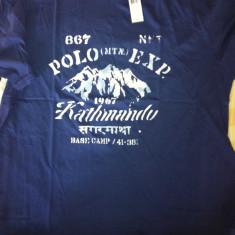 Tricou Polo Ralph Lauren | Import USA | NOU | Mar. L | 100% best quality - Tricou barbati Ralph Lauren, Marime: L, Culoare: Albastru, L, Maneca scurta, Albastru