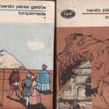 TORQUEMADA de BENITO PEREZ GALDOS 2 VOLUME - Roman, Anul publicarii: 1984