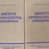 Dreptul international contemporan*2 vol. - Carte Drept international