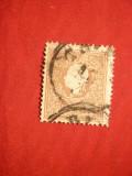 Timbru 10 Kr. 1858 brun Austria , stampilat