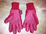 Manusi dama rosii din piele de la Thinsulate, marimea S, usor folosite, Din imagine