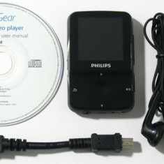 Philips GoGear Vibe 2GB - Mp4 playere Philips, Negru