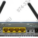 3Com ADSL Wireless 11n Firewall Router - Router wireless, Porturi LAN: 4