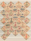 Serie 30 timbre Cuba Correos Inder 1962