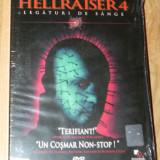 DVD ORIGINAL HELLRAISER 4 / LEGATURI DE SANGE nou. sigilat