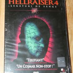 DVD ORIGINAL HELLRAISER 4 / LEGATURI DE SANGE nou. sigilat - Film drama