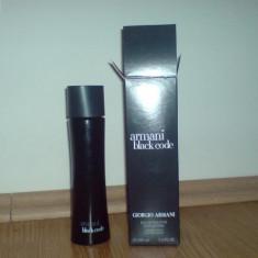 Armani Black Code 100 ml MADE IN FRANCE - Parfum barbati Armani, Apa de toaleta