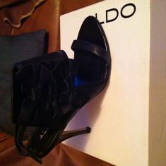 Sandale dama Aldo, Culoare: Negru, Marime: 39, Negru