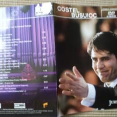 COSTEL BUSUIOC DVD disc JURNALUL NATIONAL primul concert muzica clasica opera