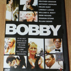 DVD ORIGINAL BOBBY. NOU. NERULAT. SUBTITRARE ROMANA. asasinarea lui kennedy - Film drama