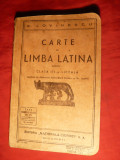E. Lovinescu - Carte Limba Latina - Cls.IIIa liceala 1935