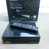 ASUS O!Play Gallery HD Media Player,  2 x USB2.0, 1 x USB3.0, 1 x e-SATA, 1 x LAN