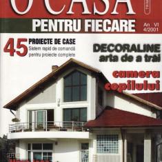 O CASA PENTRU FIECARE NR. 4/2001 - Revista casa