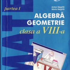 MATE 2000+ 3 ALGEBRA, GEOMETRIE PARTEA ICLASA A VIII A de ANTON NEGRILA ED. PARALELA 45 - Manual scolar paralela 45, Clasa 8