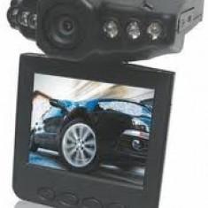 CAMERA VIDEO DVR SUPRAVEGHERE AUTO INREGISTRARE CU SUPRASCRIERE TRAFIC INFRAROSU NIGHT VISION MARTOR ACCIDENT - Camera video auto