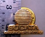 I.016 INSIGNA PIN AVIATIE COSMOS SOCATA GROUPE AEROSPATIALE
