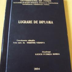 LUCRARE DE DIPLOMA - CONTRACTUL DE ANTREPRIZA - Carte Dreptul muncii