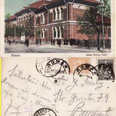 Roman (Neamt) - Liceul Roman Voda, Circulata, Printata