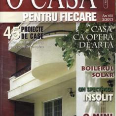 O CASA PENTRU FIECARE NR. 2/2003 - Revista casa