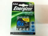Set bateri de 4 bucat ,, Marca ENERGIZER AAA de 800mAh '', Tip AAA (R3)