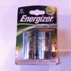 Set bateri de 2 bucat ,, Marca ENERGIZER C-HR14 de 2500 mAh ''