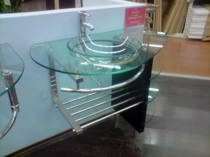 Chiuveta baie din sticla   deosebita   stare excelenta   arhiva