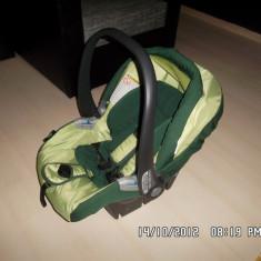 SCAUN AUTO PEG PEREGO Tri-Fix - Scaun auto copii Peg Perego, 0+ (0-13 kg), In sensul directiei de mers, Isofix