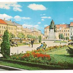 Carte postala(ilustrata)-ARAD-Piata Avram Iancu - Carte Postala Crisana dupa 1918, Necirculata, Printata