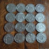 S. Lot monede 10 franci Belgia, 16 buc - Moneda Medievala