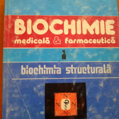 BIOCHIMIE MEDICALA SI FARMACEUTICA - Dan Bedeleanu, Ion Manta